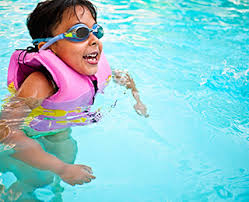 Keep kids at an arms length when in water.