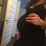 pregnant Laura